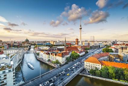 Panorama von Berlin im Bereich der Umweltzone