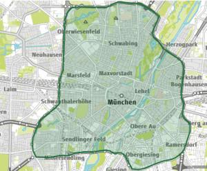 Mittlerer Ring der Umweltzone München