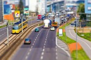 Das hohe Verkehrsaufkommen soll durch den Feinstaubalarm verringert werden