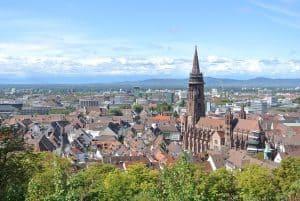 Freiburg in Breisgau führte 2010 eine Umweltzone ein.