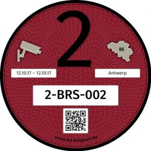 Registry Sticker Klasse 2