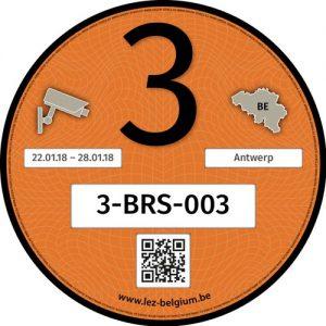 Registry Sticker Klasse 3
