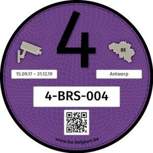 Registry Sticker Klasse 4