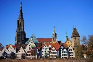 Stadtbild von Ulm – Umweltzone